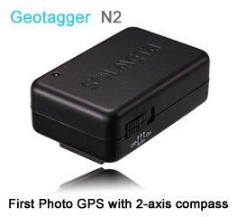 Geotagger N2-c GPS Unit for Nikon Camera D600, D7000, D3200, D5100, D5000 and D3100