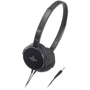 Audio Technica ATHES55BK On-Ear Headphones ( earphone ), Black (manufacturing end products) [parallel import goods]