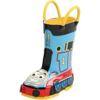 Western Chief Thomas The Tank Engine Rain Boot (Toddler/Little Kid/Big Kid),Blue,8 M Us Toddler front-869125