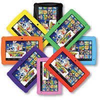 HKC CKP774-OR Click N Kids 7-Inch 8GB Tablet - Orange - New Other (Open Box)