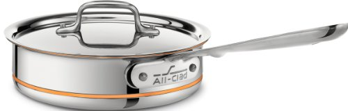 All-Clad Copper Core Sauté Pan - 2 qt