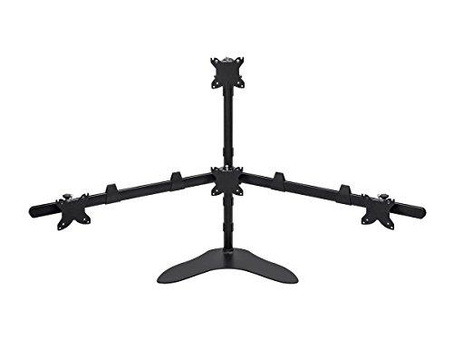 Monoprice Quad Monitor Pyramid Free Standing Desk Mount 1534; - 3034; (Freestanding Vesa Mount compare prices)