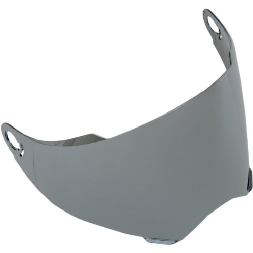 AFX Replacement Anti-Scratch Outer Shield for FX-140 Modular Helmet Silver Mirror One Size