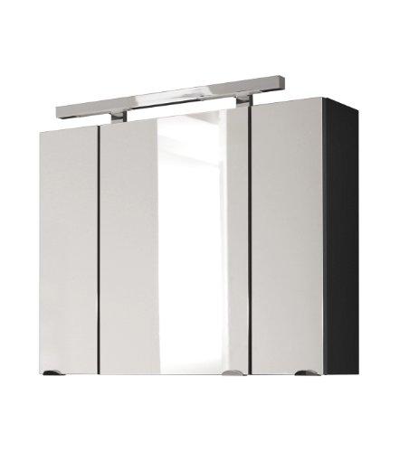 Romaneros e posseik 5674 84 spiegelschrank rima anthrazit for Amazon spiegelschrank