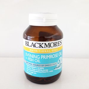 Blackmores Evening Primrose Oil + Fish Oil Taken As A Dietary Supplement Provide Omega-3 Marine Triglycerides (Epa And Dha) And Omega-6 Fatty Acids (Linoleic Acid And Gamma-Linolenic Acid): Bottle Of 60 Capsules