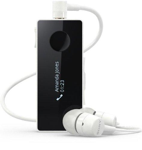 Brand New Genuine Sony Sbh50 Nfc A2Dp Stereo Bluetooth Headset W Fm Radio Call Id - White