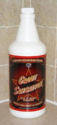 Grout Sensation Tile and Grout Cleaner- Concentrated Formula - 1 Quart