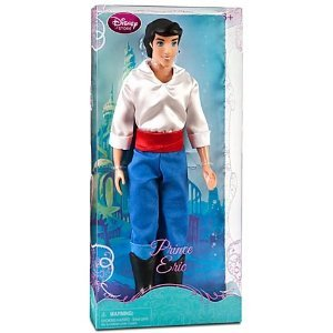 Disney Princess The Little Mermaid Prince Eric Doll