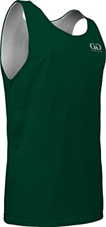 Buy AP993 Mens Tank Top Jersey-Uniform is Reversible to White-Great for Basketball by Game Gear