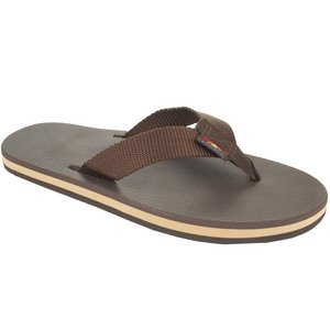 Rainbow Sandals Men Single Layer Classic