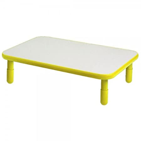 Angeles Corporation (AGC) ANGELES30X72 RECTANGULAR TABLE-Canary yellow-16 at Sears.com
