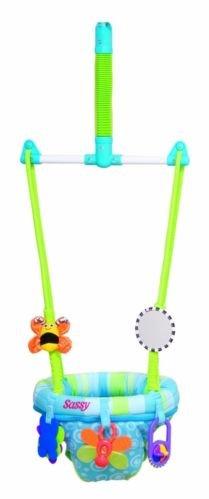 New Baby Development Comfortable Sassy Seat Doorway Jumper 5 Toys Nib front-940532