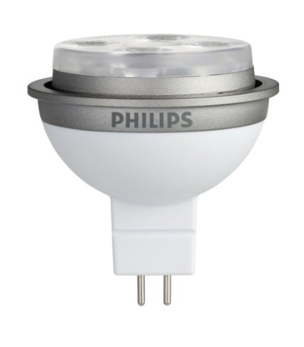 Philips 414960 Dimmable Ambientled 10-Watt Mr16 Indoor Flood Light 12-Volt Light Bulb