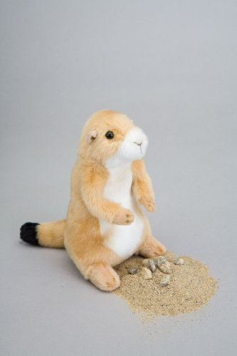 "Digger Prairie Dog Plush Toy 7"" H"