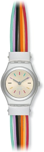 Swatch Filamento Multicolore Ladies Bracelet Watch - YSS1006