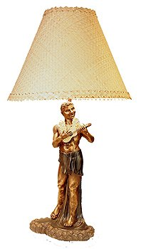 Bronze Hula Lamp