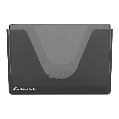 Georgia-Pacific GP 56640 Smoke Plastic C-Fold or Multifold Countertop Paper Towel Dispenser, 11