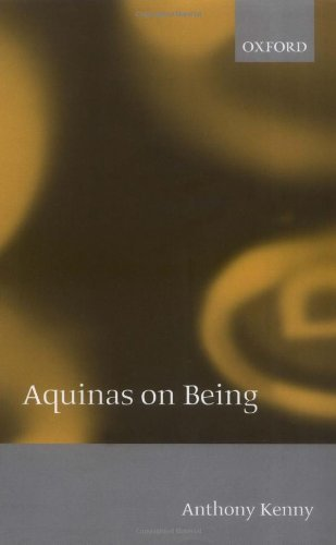 Anthony Kenny - Aquinas on Being