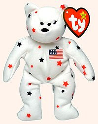 Glory the Bear - 1999 McDonald's Ty Teenie Beanie Babies - 1