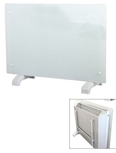 Kissmoji 1500 Watt White Wall Mount Electric Panel Indoor Living Room Convection Heater (Wall Mount Electric Room Heater compare prices)