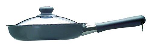 Sori Yanagi 121511080014 iron skillet with lid - 25cm fiber processing line]
