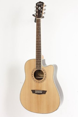 Wahsburn WD20 Series WD20SCE Acoustic Electric Guitar