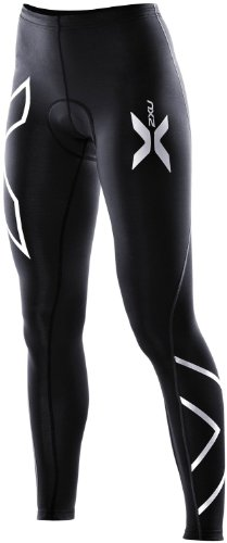 2XU Women's Compression Cycle Tights, Black, X-Large