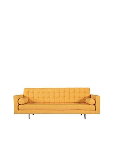 Kardiel Madison Mid-Century Modern Sofa, Saffron