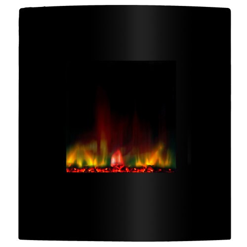 Yosemite Home Decor DF-EFP400 Fantasy Electric Fireplace, Sleek Black picture