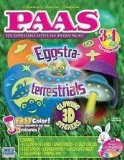 Eggstra-terrestrials Easter Egg Dye Decorating Kit With Glowing 3D Stickers - 1