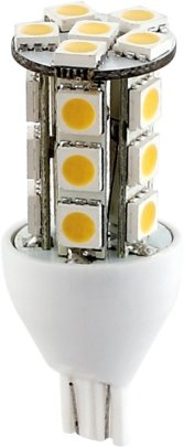 Green Longlife 5050131 Led Replacement Light Bulb Tower With 921/T15 Wedge Base 250 Lumens 12V Or 24V Warm White