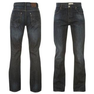 Firetrap Tokyo Jeans Mens Dark Wash 32W R