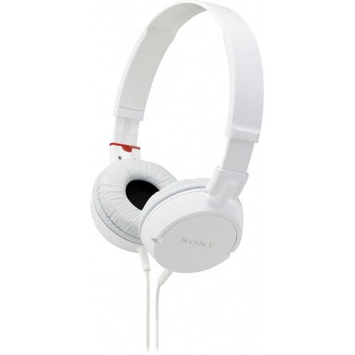 Sony Mdr-Zx100 Mdrzx100 Zx Series Stereo Headphones (White)