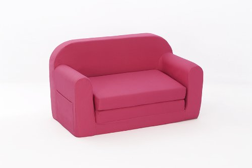 Darcy Sofa Bed in PINK Cotton Drill