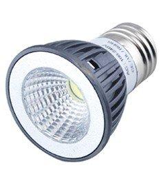 Eonice 3W Cob Led Bulb Spotlight, High Power Cob Led Chip, Aerospace Aluminum Body - Cool White 6500K, 30 Watt Equivalent 280 Lumen, Ac 85-265V, 60 Degree Beam Angle For Landscape, Recessed, Track Lighting