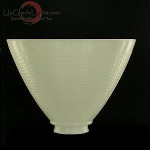 Amazoncom upgradelightsr 8 inch glass floor lamp for Floor lamp reflector shade glass