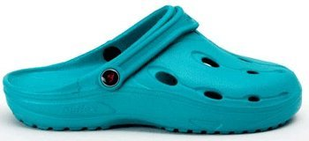 Chung Shi Synthetic-Clogs DUX turquoise/aquamarine Duflex Softfootbed Middle