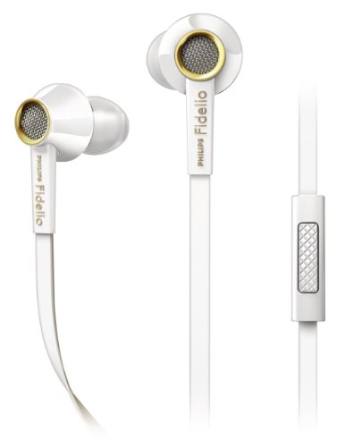 Philips Fidelio S2Wt/28 In-Ear Headsets Earbuds - White
