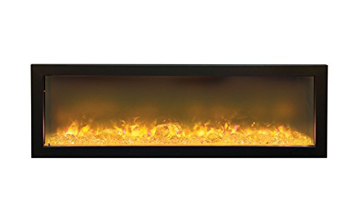 Amantii Fire & Ice Series Built-In Electric Fireplace, 50-Inch
