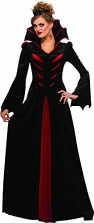 Rubie's Costume Halloween Sensations Queen Of The Vampires Adult Costume, Black, Standard