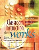 img - for Classroom Instruction That Works Research--Based Strategies for Increasing Student Achievement book / textbook / text book