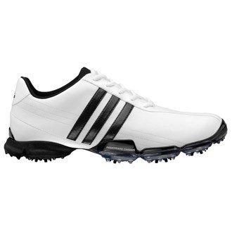 Adidas Mens Powerband Grind Golf Shoes (White/Black/White) 2013