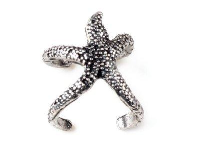 Women's Trendy Exquisite Vintage Starfish Ring