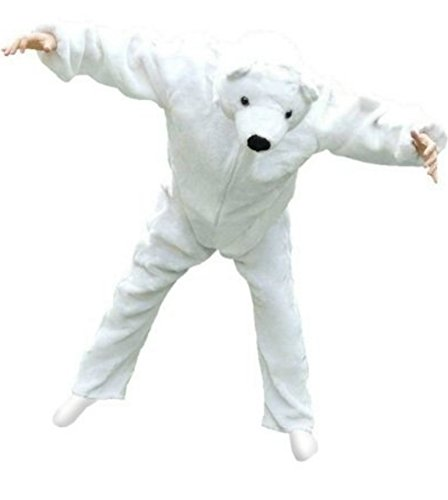 Fantasy World Women's F24 Polar Bear Costume (8/M-14/L)