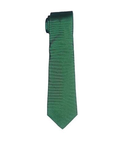 Caramelo Corbata Seda Verde