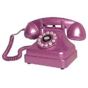 Crosley CR62-PI Kettle Classic Desk Phone - Pink