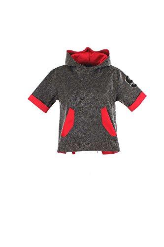 Maglia Donna Shiki 16ISK34002 Grigio/rosso Autunno/Inverno Grigio/rosso L