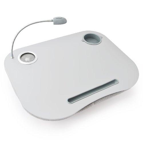 Mesa para portátil Mesa para laptop con soporte para bebidas Luces + Sonido
