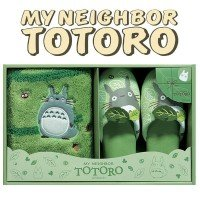Hello SENKO (Senko) Totoro (accent mat and slippers set) gift