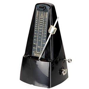 Metronome pyramide Noir mecanique piano 40-208bmp musique music